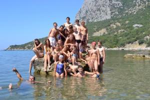 Спортивный детский лагерь в Крыму