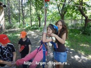 Лучший лагерь в Крыму 2014